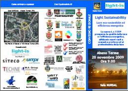 Convegno: Light Sustainability