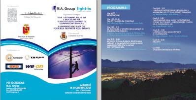 14 Dicembre 2010 Cenate Sotto (Bg): Illuminiamo la strada che porta alla proprietà degli impianti