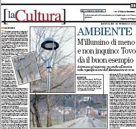 Illuminazione ecosostenibile: il comune di Tovo (SO) dà l'esempio