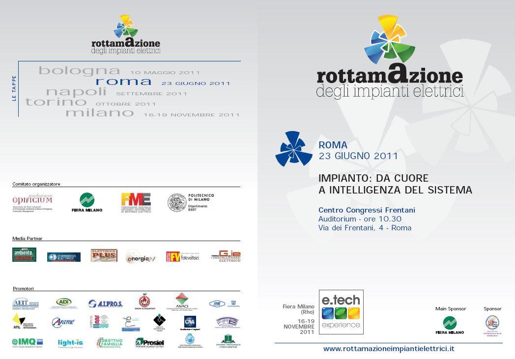 Roma 23 Giugno: Rottamazione degli impianti elettrici