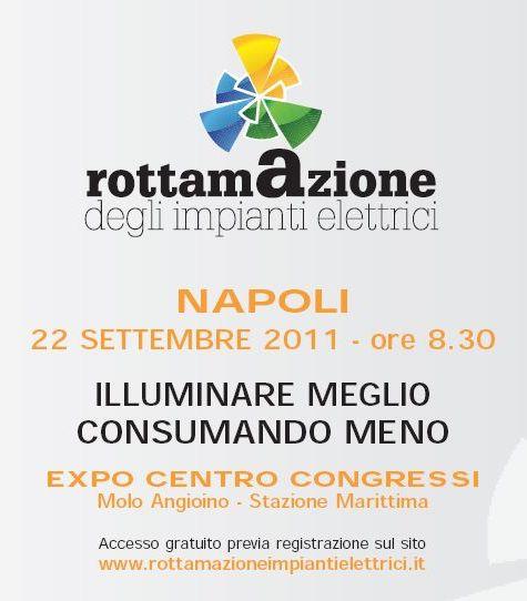 Napoli 22 Settembre: Rottamazione degli impianti elettrici