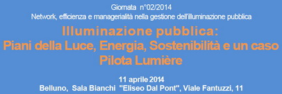 11 aprile 2014 – Belluno Convegno ENEA