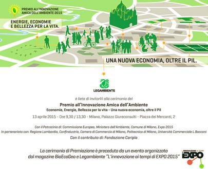 Roncade (Tv) vince il premio Legambiente 2015: Innovazione amica dell'ambiente
