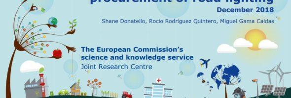 2019 Pubblicati i Green Public Procurement Europei sull'Illuminazione